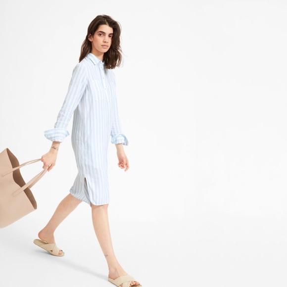 64429736883d Everlane Dresses & Skirts - EUC Everlane linen shirt dress
